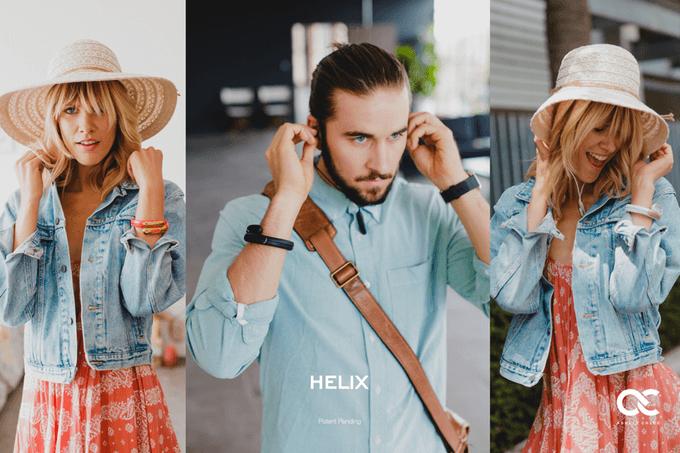 helix bracelet écouteurs