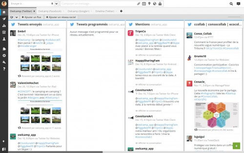 Screenshot Hootsuite