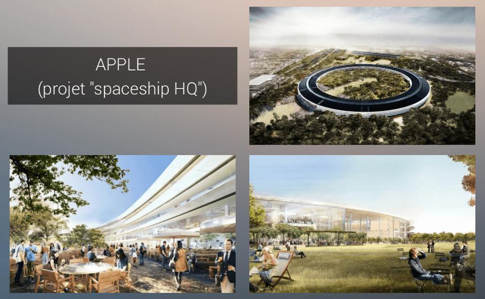 spaceship HQ Apple