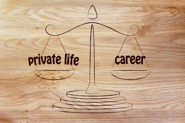 vie professionnelle carrière emploi vie privée télétravail