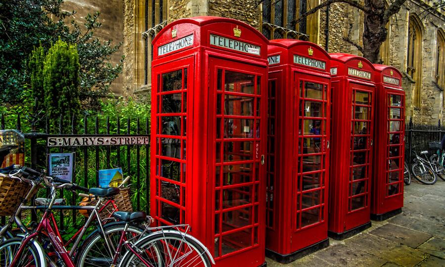 telephone Cambridge test anglais concours école étudiants